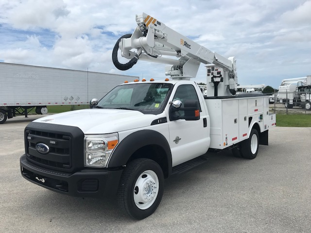 Stock # 23694  2013 Ford F550 4x4 42Ft Bucket Truck