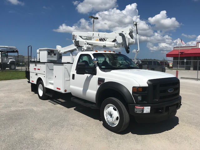 Stock# 26746  2008 Ford F550 SD  42ft Bucket Truck