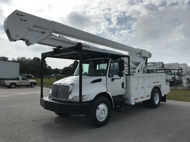 STOCK # 37833 2012 INTERNATIONAL 60FT 2 MAN BUCKET TRUCK