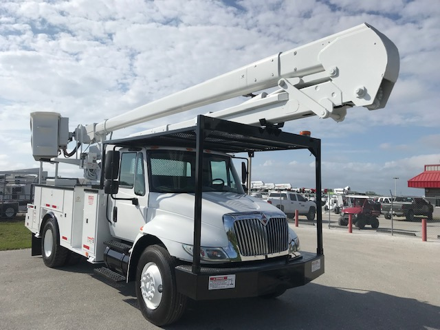 STOCK # 39091  2012 INTERNATIONAL 4300 60FT 2 MAN BUCKET TRUCK