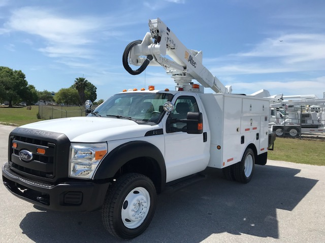 STOCK # 50641  2012 FORD F550 4X4 42FT BUCKET TRUCK