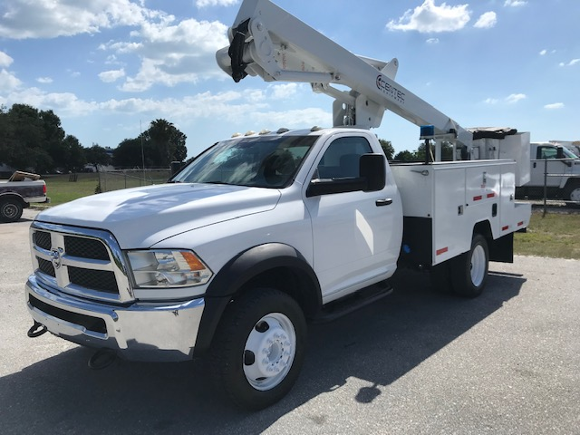 STOCK # 95346  2013 DODGE 4X4 42FT BUCKET TRUCK