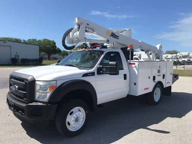 STOCK # 23099  2011 FORD F550 42FT BUCKET TRUCK