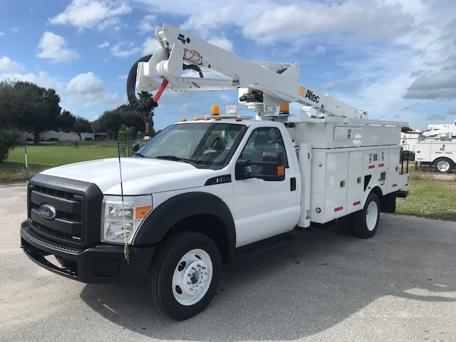 STOCK # 88333  2013 FORD F550 45FT BUCKET TRUCK