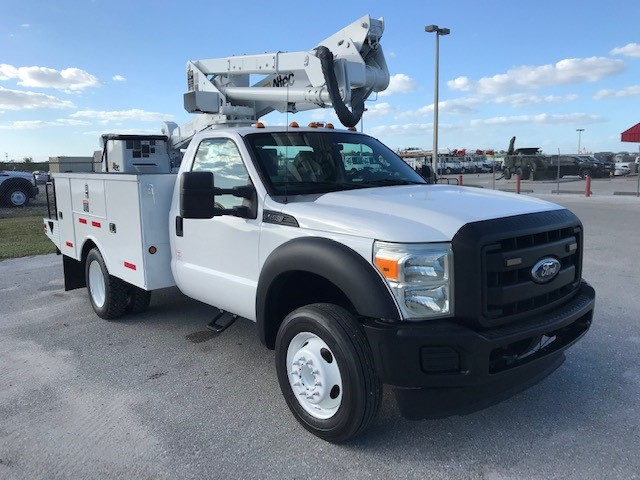 STOCK # 23116  2011 FORD F550 42FT BUCKET TRUCK