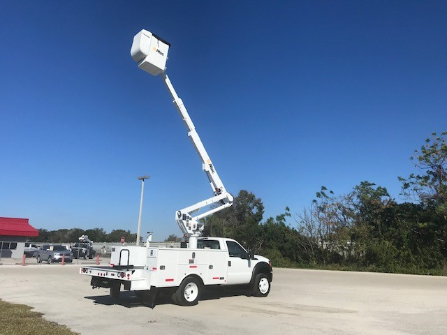 STOCK # 88451  2014 FORD F550 42FT BUCKET TRUCK