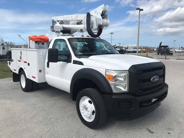 STOCK # 23115  2011 FORD F550 SD 42FT BUCKET TRUCK
