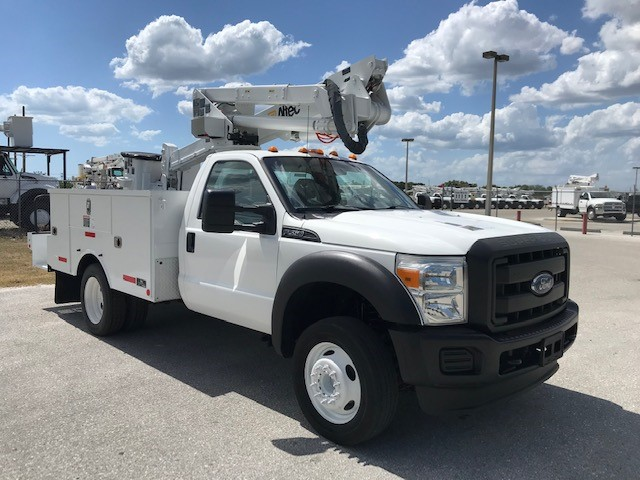 STOCK # 57046 2016 FORD F550 42FT BUCKET TRUCK